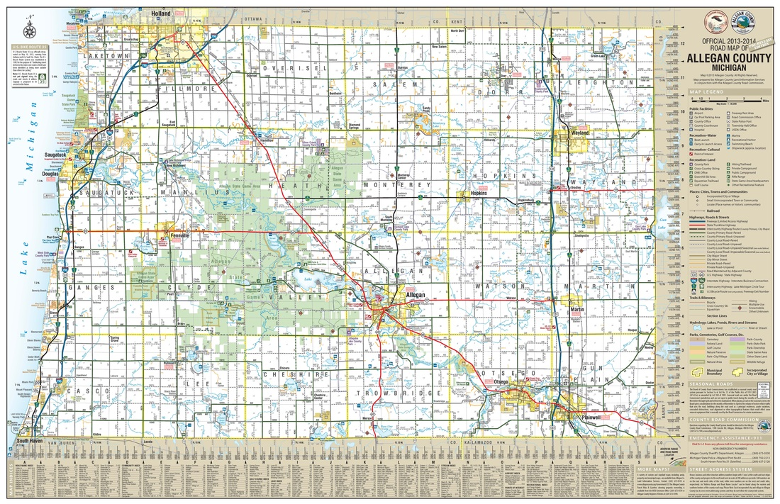 MAPS - ALLEGAN COUNTY ROAD COMMISSION