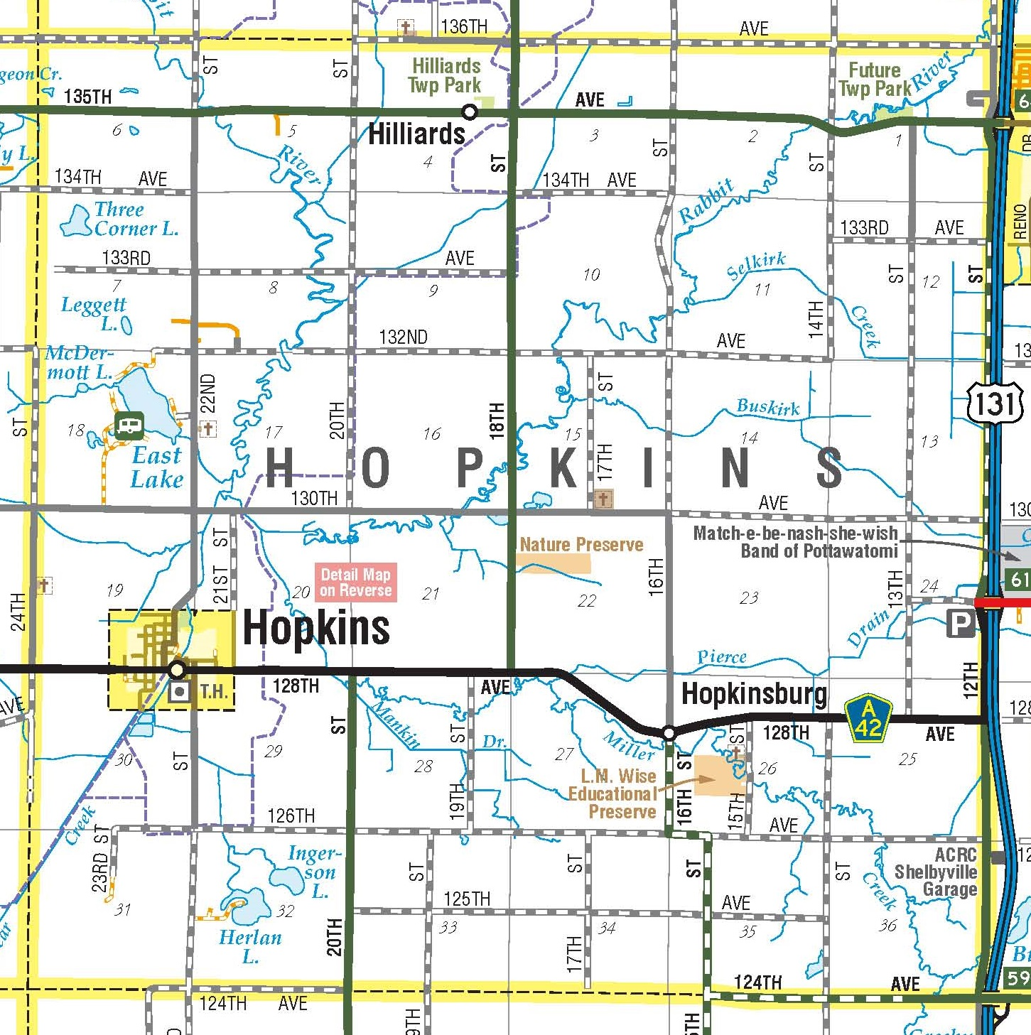 Township Maps Allegan County Road Commission