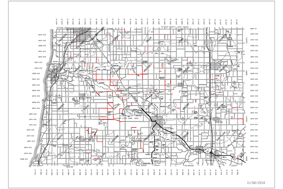 SEASONAL ROADS - ALLEGAN COUNTY ROAD COMMISSION on sanilac michigan, saginaw county township map, ann arbor road map, detroit road map, united states road map, iosco county plat map, lansing road map, huron county township map, sanilac co mi map, washington township road map, richmond road map, michigan road map, sanilac county mi township map, port sanilac map, sanilac county government, michigan county map, port huron mi map, battle creek road map, auburn road map, sanilac county clerk,